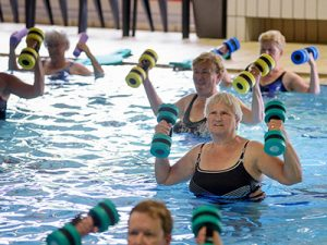 Fifty-Fit sportief in het water