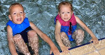 Zwemlessen kinderen voor A-B-C